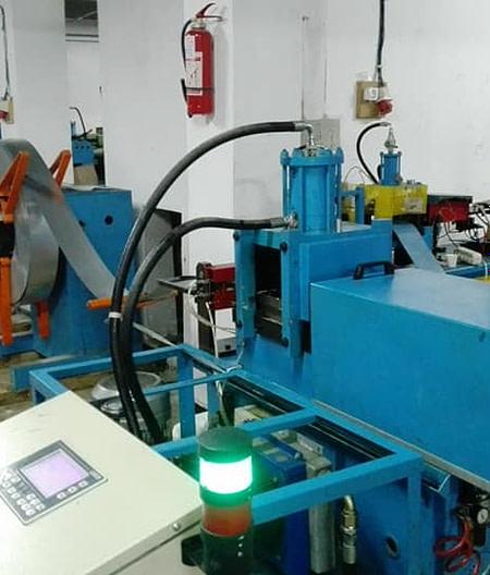 Gmdi Réparation de profileuse des lames rideaux