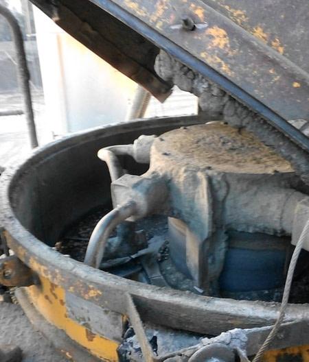 Gmdi Réparation trap central à béton