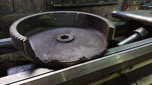 Gmdi Conception et Fabrication de roue dentée pour une rouleuse manuelle